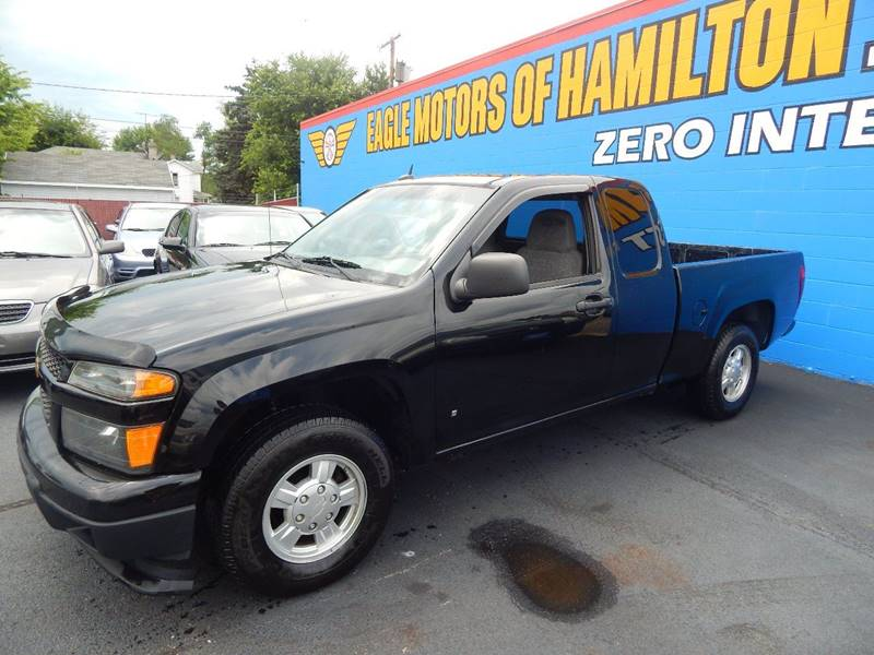 2008 chevrolet colorado 4x2 ls extended cab 4dr in for Eagle motors hamilton ohio