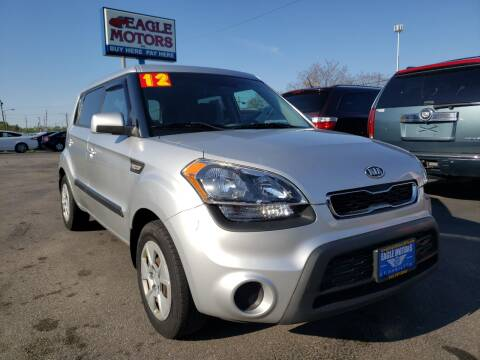 2012 Kia Soul for sale at Eagle Motors in Hamilton OH