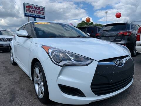 2014 Hyundai Veloster for sale at Eagle Motors in Hamilton OH