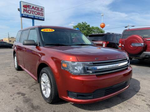 2014 Ford Flex for sale at Eagle Motors in Hamilton OH
