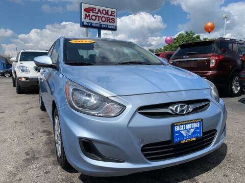 2012 Hyundai Accent for sale at Eagle Motors in Hamilton OH