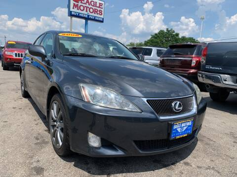 2008 Lexus IS 250 for sale at Eagle Motors in Hamilton OH