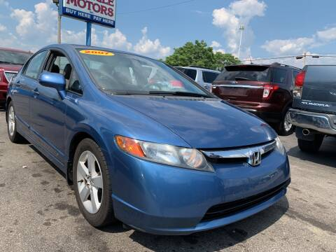 2007 Honda Civic for sale at Eagle Motors in Hamilton OH