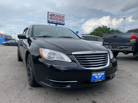 2013 Chrysler 200 for sale at Eagle Motors in Hamilton OH