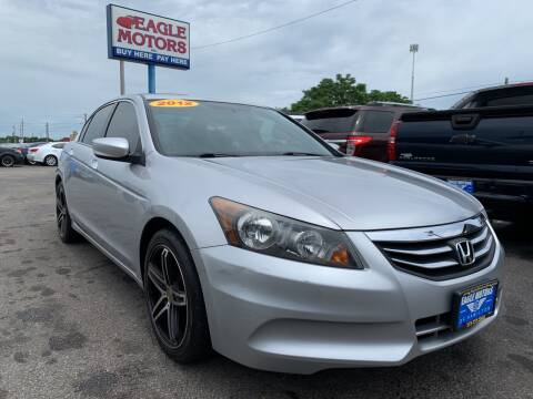 2012 Honda Accord for sale at Eagle Motors in Hamilton OH
