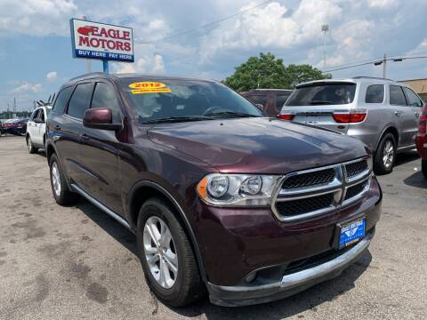 2012 Dodge Durango for sale at Eagle Motors in Hamilton OH