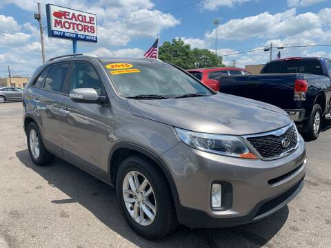 2015 Kia Sorento for sale at Eagle Motors in Hamilton OH