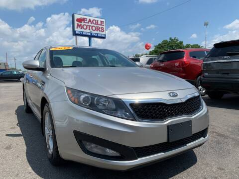 2013 Kia Optima for sale at Eagle Motors in Hamilton OH