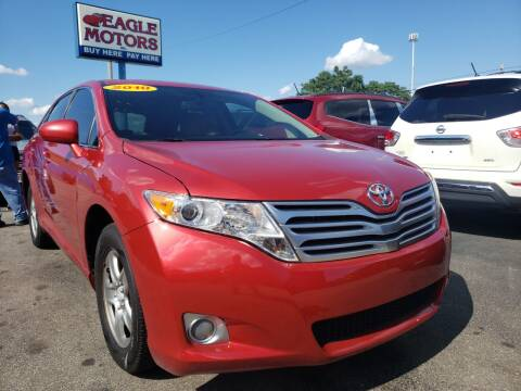2010 Toyota Venza for sale at Eagle Motors in Hamilton OH