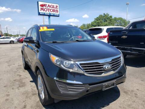 2013 Kia Sportage for sale at Eagle Motors in Hamilton OH