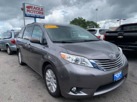 2011 Toyota Sienna for sale at Eagle Motors in Hamilton OH
