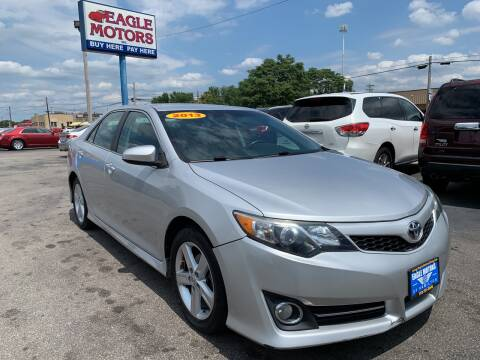 2013 Toyota Camry for sale at Eagle Motors in Hamilton OH