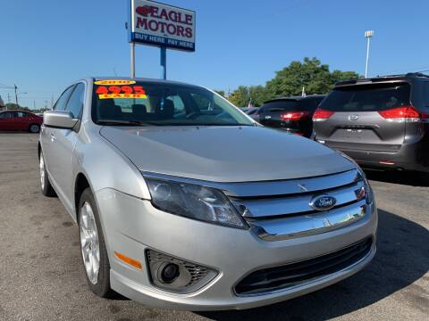 2010 Ford Fusion for sale at Eagle Motors in Hamilton OH