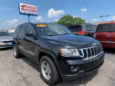 2013 Jeep Grand Cherokee for sale at Eagle Motors in Hamilton OH