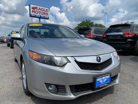 2010 Acura TSX for sale at Eagle Motors in Hamilton OH