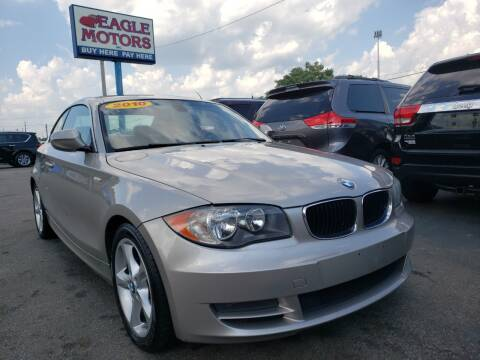 2010 BMW 1 Series for sale at Eagle Motors in Hamilton OH