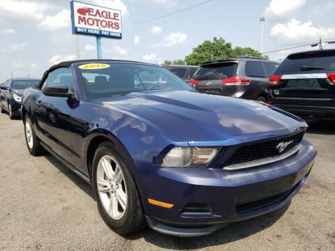 2012 Ford Mustang for sale at Eagle Motors in Hamilton OH