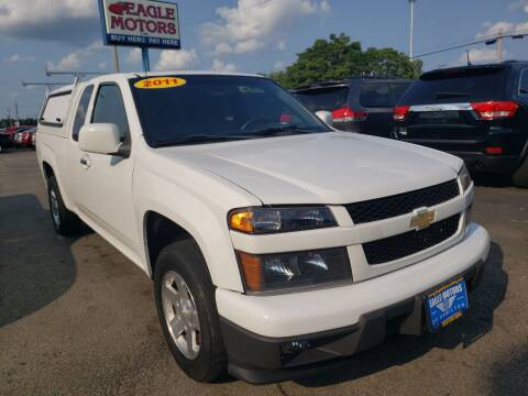 2011 Chevrolet Colorado for sale at Eagle Motors in Hamilton OH