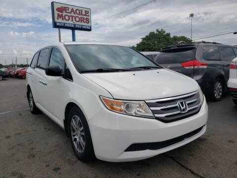 2011 Honda Odyssey for sale at Eagle Motors in Hamilton OH