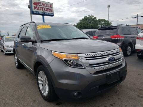 2012 Ford Explorer for sale at Eagle Motors in Hamilton OH