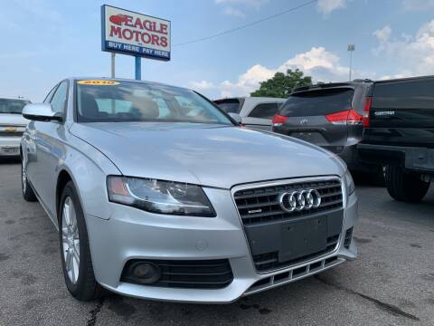 2010 Audi A4 for sale at Eagle Motors in Hamilton OH
