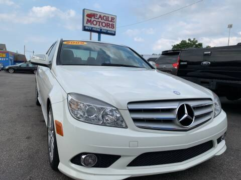 2009 Mercedes-Benz C-Class for sale at Eagle Motors in Hamilton OH