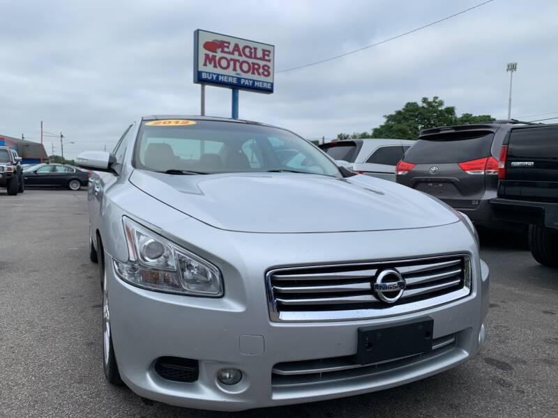 2012 Nissan Maxima for sale at Eagle Motors in Hamilton OH