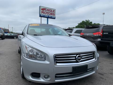 2012 Nissan Maxima for sale at Eagle Motors in Hamilton OH
