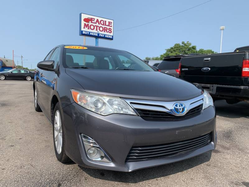 2014 Toyota Camry Hybrid for sale at Eagle Motors in Hamilton OH