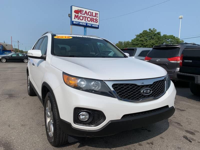2012 Kia Sorento for sale at Eagle Motors in Hamilton OH
