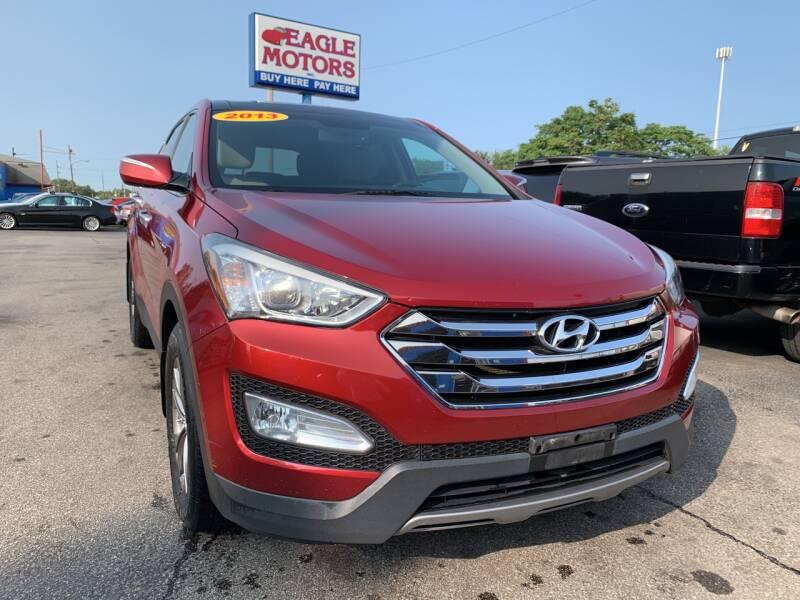 2013 Hyundai Santa Fe Sport for sale at Eagle Motors in Hamilton OH