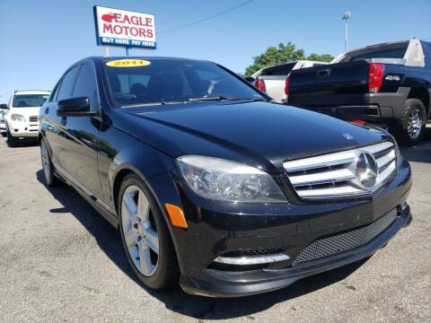 2011 Mercedes-Benz C-Class for sale at Eagle Motors in Hamilton OH