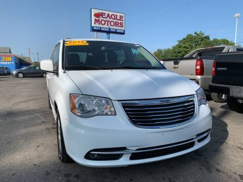 2014 Chrysler Town and Country for sale at Eagle Motors in Hamilton OH