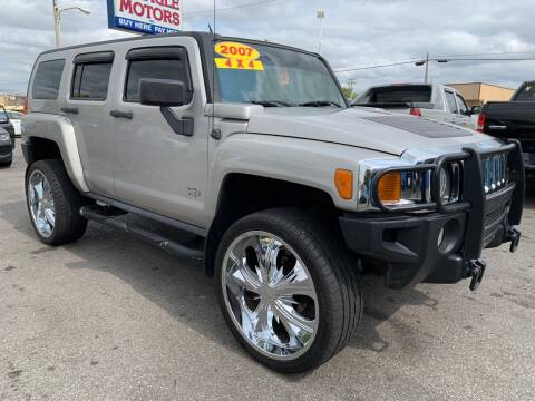 2007 HUMMER H3 for sale at Eagle Motors in Hamilton OH