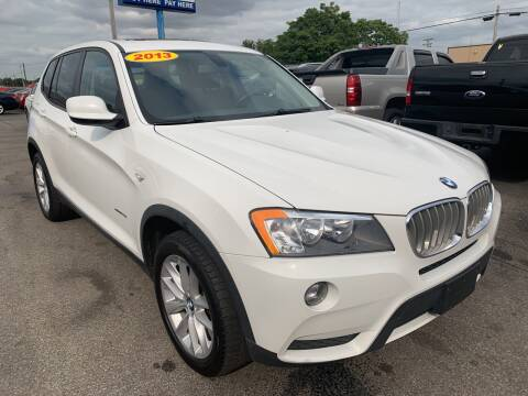 2013 BMW X3 for sale at Eagle Motors in Hamilton OH