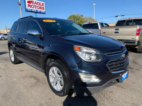 2016 Chevrolet Equinox for sale at Eagle Motors in Hamilton OH