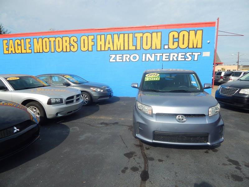 2012 scion xb 4dr wagon 4a in hamilton oh eagle motors for Eagle motors hamilton ohio