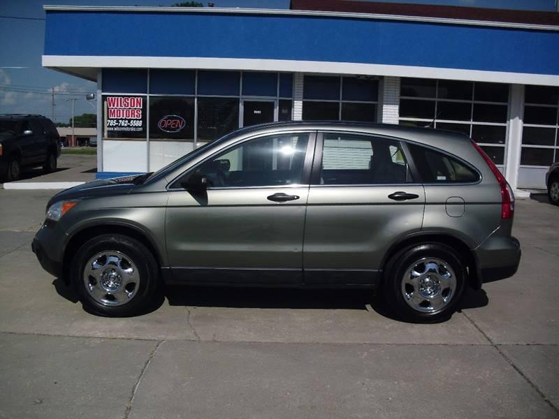 2008 Honda CR-V for sale at Wilson Motors in Junction City KS