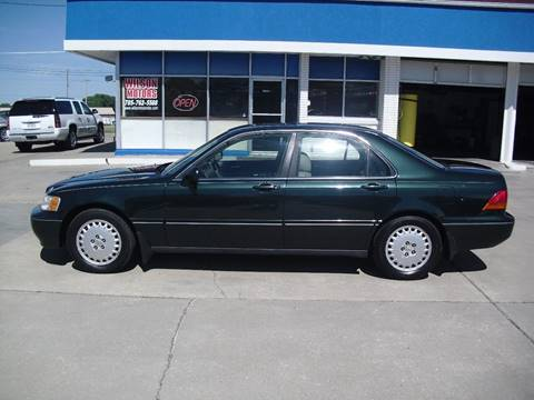 1997 Acura RL for sale at Wilson Motors in Junction City KS