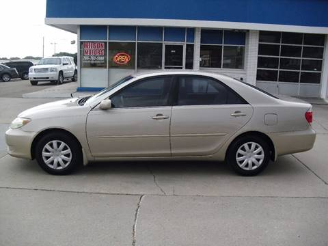 2005 Toyota Camry for sale at Wilson Motors in Junction City KS