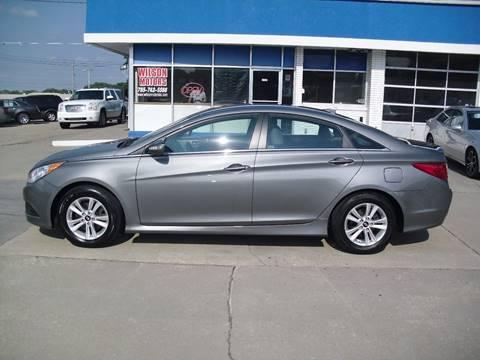 2014 Hyundai Sonata for sale at Wilson Motors in Junction City KS