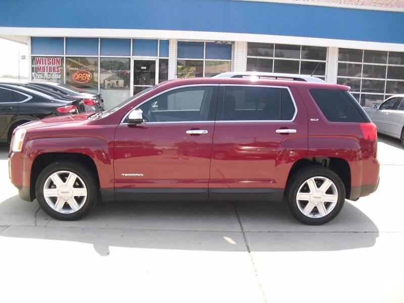 2011 GMC Terrain for sale at Wilson Motors in Junction City KS