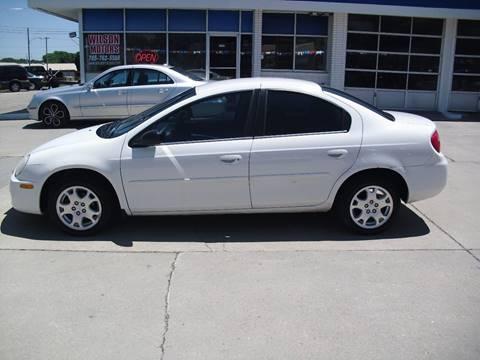 2004 Dodge Neon for sale at Wilson Motors in Junction City KS