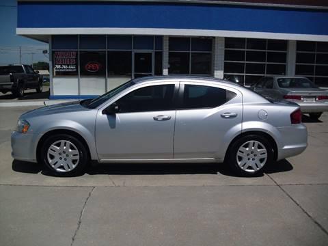2012 Dodge Avenger for sale at Wilson Motors in Junction City KS