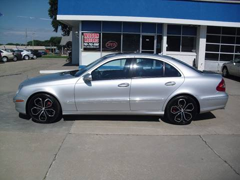 2008 Mercedes-Benz E-Class for sale at Wilson Motors in Junction City KS