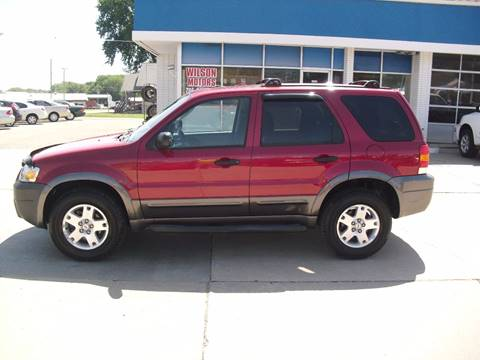 2006 Ford Escape for sale at Wilson Motors in Junction City KS