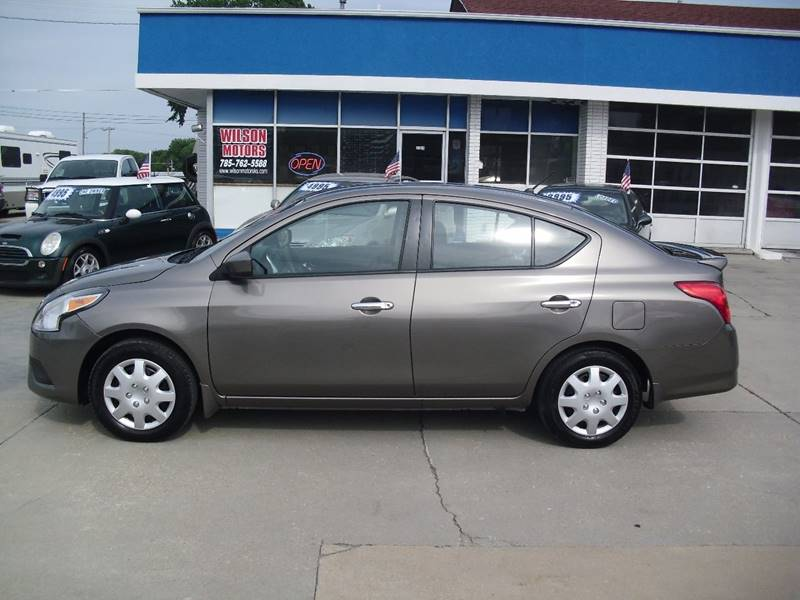 2015 Nissan Versa for sale at Wilson Motors in Junction City KS