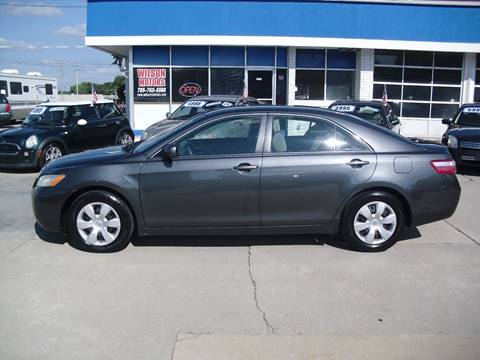 2007 Toyota Camry for sale at Wilson Motors in Junction City KS