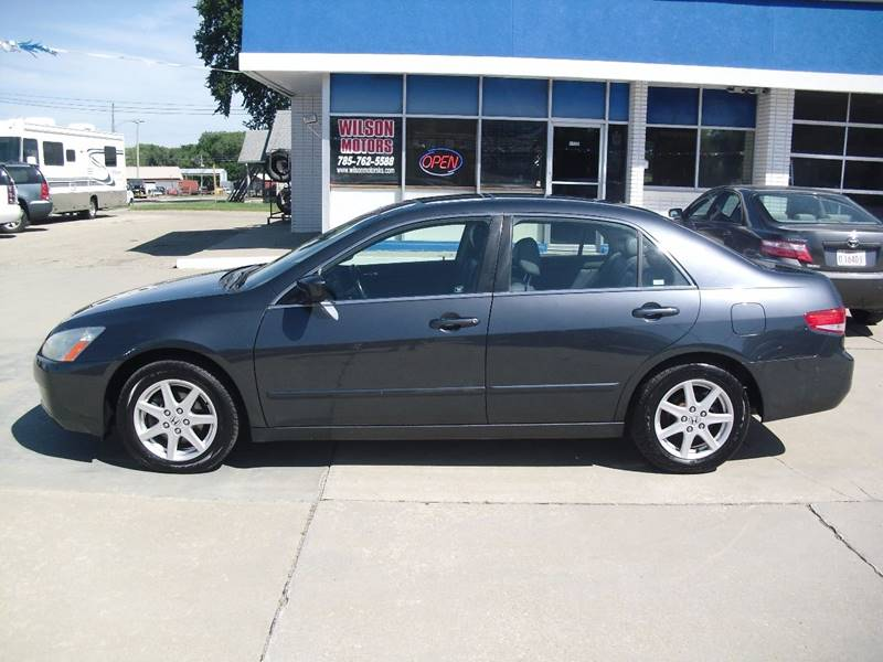 2003 Honda Accord for sale at Wilson Motors in Junction City KS