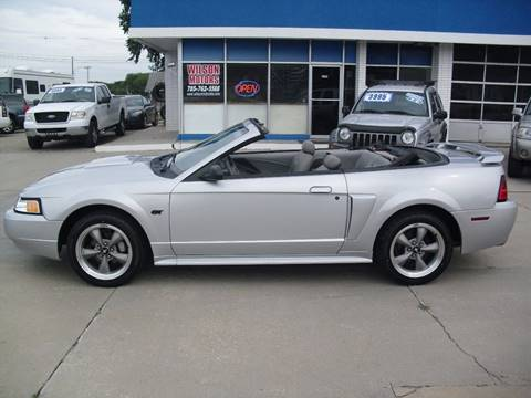 2002 Ford Mustang for sale at Wilson Motors in Junction City KS